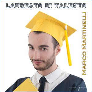 """Marco Martinelli - """"Laureato di talento"""""""